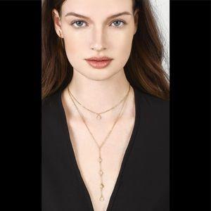 Baublebar  dewdrop gold necklace